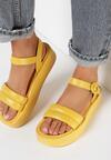 Żółte Sandały Physateia