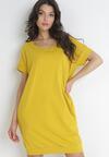 Żółta Sukienka Brethoche
