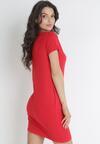 Czerwona Sukienka Apheilise