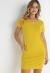 Żółta Sukienka Hysopheu