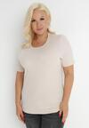 Jasnobeżowy T-shirt Euphosi