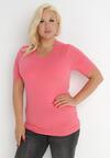 Różowy T-shirt Euphosi