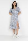Jasnoniebieska Sukienka Morgabel