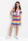 Fioletowa Sukienka Thalusei