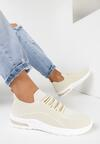 Beżowe Buty Sportowe Savarephine