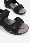 Czarno-Niebieskie Sandały Savarophia