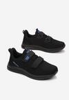 Czarno-Niebieskie Buty Sportowe Athilalise