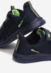 Granatowo-Zielone Buty Sportowe Athilalise