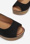 Czarne Sandały Bathixera