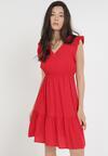 Czerwona Sukienka Euphethia