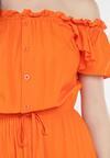 Pomarańczowa Sukienka Sinishis