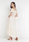 Kremowa Sukienka Sinishis