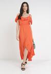 Pomarańczowa Sukienka Yearly