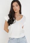 Biały T-shirt Cretheosis