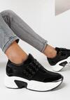 Czarne Sneakersy Paphice