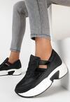 Czarne Sneakersy Psalosi