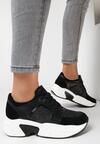 Czarne Sneakersy Oriphistae
