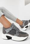 Ciemnosrebrne Sneakersy Oriphistae