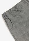 Czarno-Szare Spodnie Daphithoe