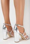 Srebrne Sandały Acalenis