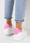 Biało-Fuksjowe Sneakersy Neamesa