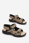 Beżowe Sandały Orphaxise