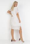 Biała Sukienka Aphionis