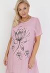 Różowa Sukienka Aphionis