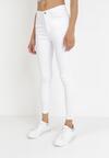 Białe Spodnie Skinny Iasice