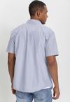 Niebiesko-Brązowa Koszula Theisine