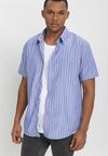 Niebiesko-Biała Koszula Othriphi