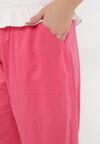 Fuksjowe Spodnie Luźne Pixissis