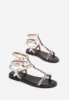 Białe Sandały Doriche