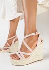 Różowe Sandały Iphali