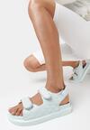 Niebieskie Sandały Zelithe