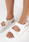 Białe Sandały Zelithe