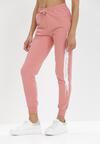 Różowe Spodnie Dresowe Myrithahria