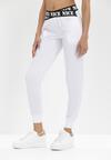 Białe Spodnie Dresowe Isiphi