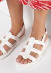 Białe Sandały Synesi