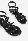 Czarne Sandały Aelophai