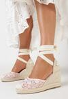 Różowe Sandały Danadise
