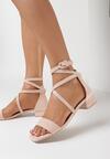 Różowe Sandały Daphnophi