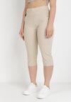 Beżowe Spodnie Sylphiasse