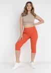 Pomarańczowe Spodnie Sylphiasse