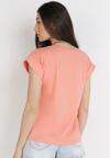 Łososiowy T-shirt Kisenia