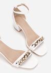 Białe Sandały Thespophia