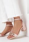 Różowe Sandały Thespophia