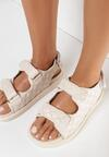 Beżowe Sandały Sagite