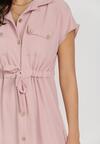 Różowa Sukienka Savareilla