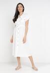 Biała Sukienka Savareilla
